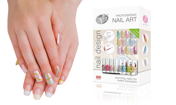 Rio Nail Art Design Kit Groupon Goods