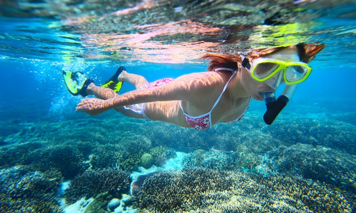 Snorkel ATX - Austin - Barton Hills: Snorkeling Tour and Gear for One or Two from Snorkel ATX (Up to 50% Off)