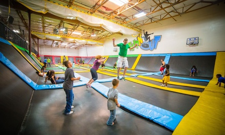 $35 for a Two-Hour Play Pass for Two at FLIPnOUT Fun Centers ($110 Value)