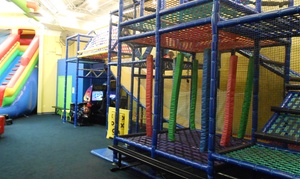 The Play Factory: 5 or 10 Open-Play Passes, or Weekday Party at The Play Factory (Up to 44% Off)