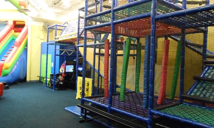 5 or 10 Open-Play Passes, Open-Play Party, or Weekday Party at The Play Factory (Up to 44% Off)