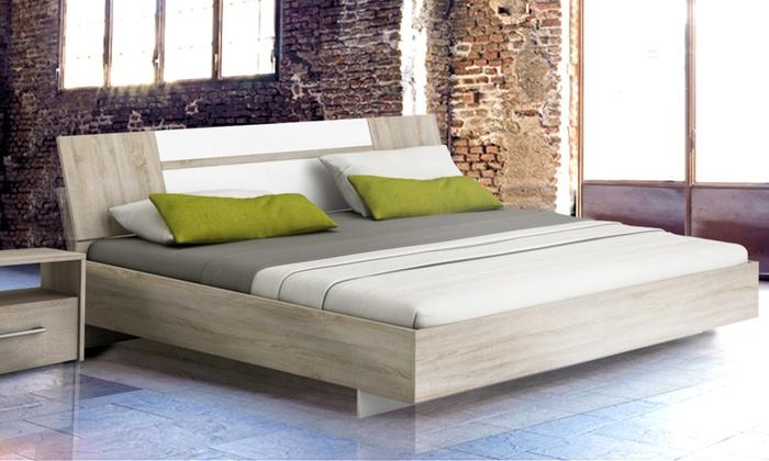 Strutture letto in legno groupon goods - Dove comprare un letto matrimoniale ...