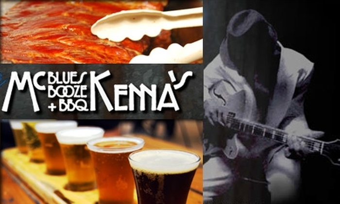 McKenna's Blues, Booze and BBQ - South Central Omaha: $10 for $20 of Barbecue Fare and Drinks at McKenna's Blues, Booze and BBQ