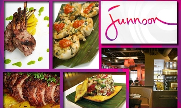 Junnoon - University South: $25 for $50 Worth of Modern Indian Dining at Junnoon