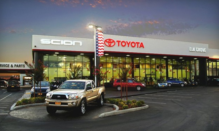Elk Grove Toyota - Elk Grove: $20 for Standard Oil Change, Multipoint Inspection, and Car Wash at Elk Grove Toyota ($41 Value)
