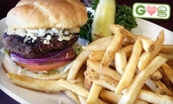 JJ Brewsky's Restaurant & Bar - Camarillo: $10 for $20 Worth of Burgers and American Fare at JJ Brewsky's Restaurant & Bar in Camarillo