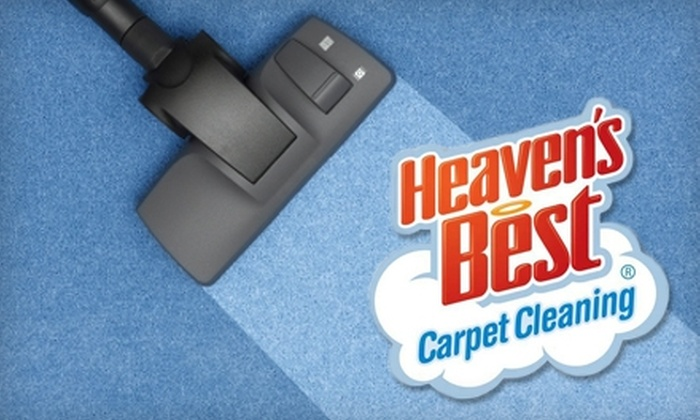Heaven's Best Carpet Cleaning - Dahlman: $65 for Carpet Cleaning of Three Rooms and One Hallway from Heaven's Best Carpet Cleaning ($130 Value)
