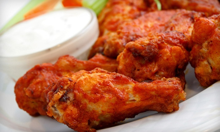 Dick's Wings & Grill - Richmond Hill: Fare and Drinks at Dick's Wings & Grill in Richmond Hill (Up to 55% Off). Three Options Available.