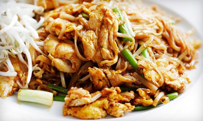 Pink Pepper Thai Cuisine - Phoenix: $10 for $20 Worth of Authentic Thai Cuisine at Pink Pepper Thai Cuisine in Mesa