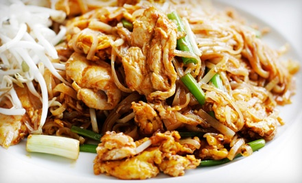 $20 Groupon to Pink Pepper Thai Cuisine - Pink Pepper Thai Cuisine in Mesa