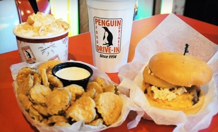 $18 Groupon to The Penguin Drive-In - The Penguin Drive-In in Charlotte