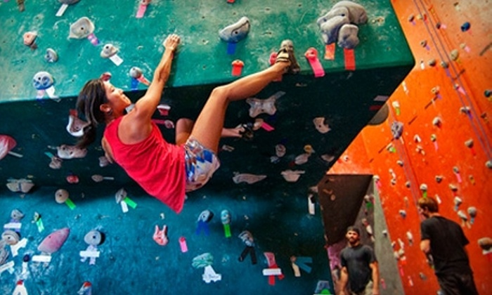 Volcanic Rock Gym - Waipo: $12 for Two One-Day Passes ($24 Value) or $25 for a One-Month Pass ($50 Value) to Volcanic Rock Gym