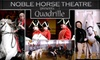 """Noble Horse - Near North Side: $12 Ticket to See """"Quadrille: A 19th-Century Horse Festival"""" at Noble Horse Theatre ($25 Value). Buy Here for Adult Admission. See Below for Children's Admission."""