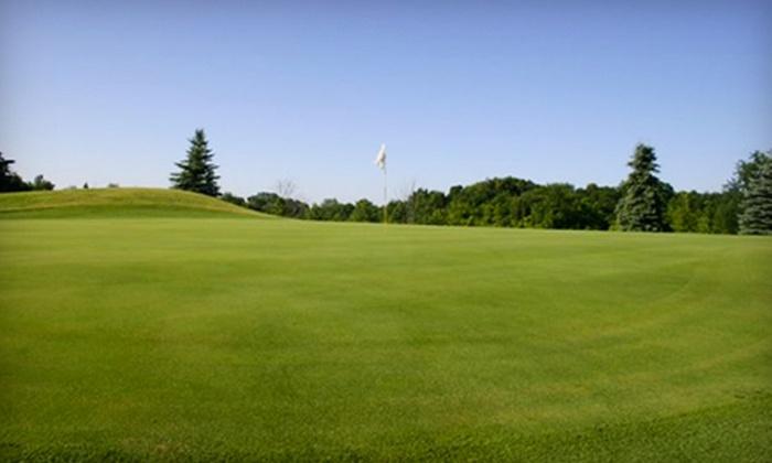 Deertrak Golf Club - Oconomowoc: Golf and Lunch at Deertrak Golf Club in Oconomowoc. Two Options Available.