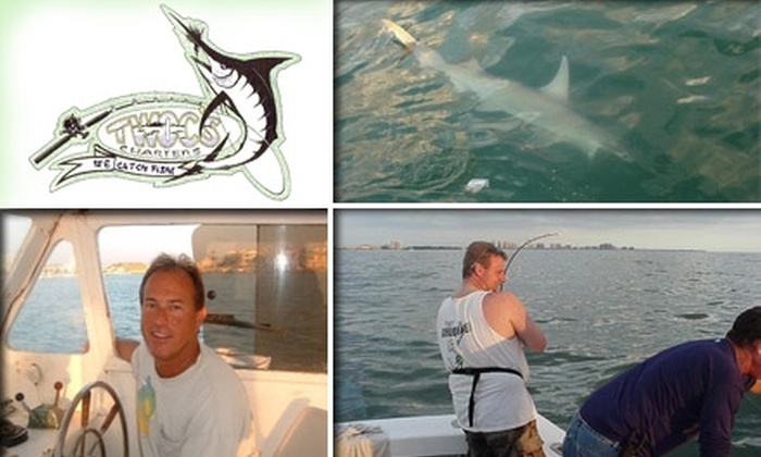 Charter Boat 2 C's II - Clearwater: $55 for a Four-Hour Deep Sea Fishing Tour on Charter Boat Two C's II (Up to $110 Value)