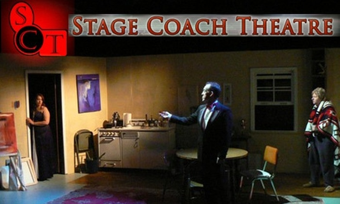 Stage Coach Theatre - Boise: $15 for Two Tickets to Any 2010–11 Show at Stage Coach Theatre (Up to $30 Value)