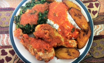 $16 Groupon to Wasota African Cuisine  - Wasota African Cuisine in Austin