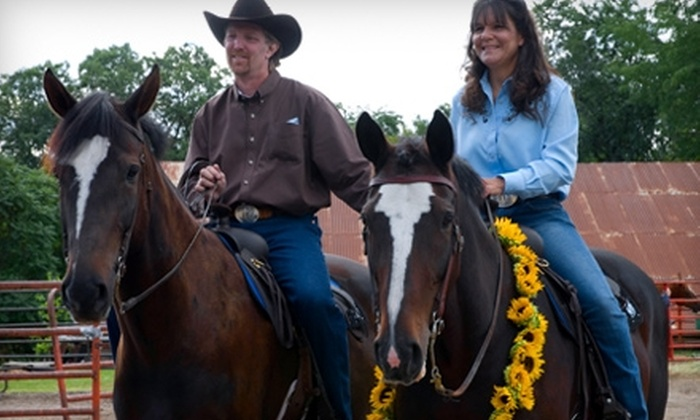 Horseplay Stables - Milton: $25 for Guided Horseback Trail Ride and Lesson at Horseplay Stables in Milton