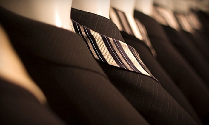 Duru's Custom Shirts and Suits - Multiple Locations: $650 for Men's Complete Suit Package at Duru's Custom Shirts and Suits (Up to $1,415 Value)