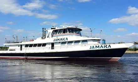 4-Hour Fishing Trip for 1 or 2 or 5-Hour Fireworks Cruise for 2 or 4 from The Big Jamaica (Up to 58% Off)