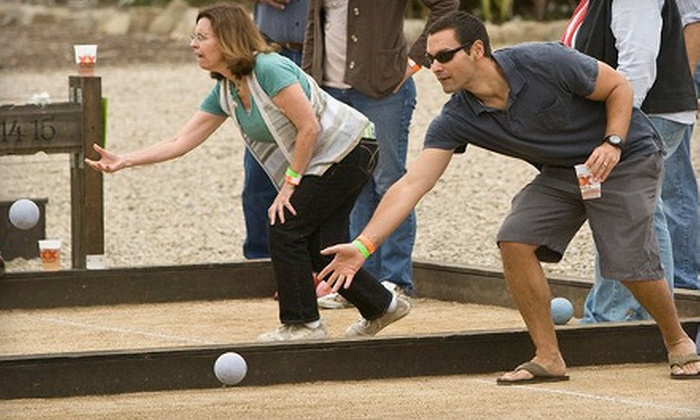 The Food Truck & Bocce Ball Festival - Santa Paula: Bocce-Ball-and-Music Outing for Two at The Food Truck & Bocce Ball Festival in Santa Paula on August 21 ($30 Value)
