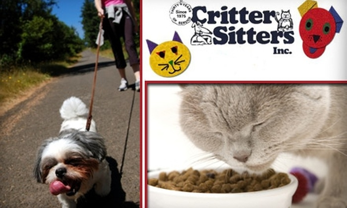 Critter Sitters - Atlanta: $25 for $50 Worth of Pro Pet Sitting from Critter Sitters