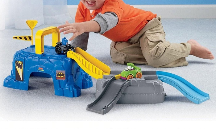Fisher-Price Batman Play Sets: Fisher-Price Play 'n Go Batcave or The Joker's Fun House (Up to 63% Off)