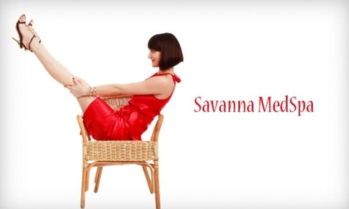 Savanna MedSpa - Rillito: $99 for Three Laser Hair-Removal Sessions at Savanna MedSpa (Up to $297 Value)