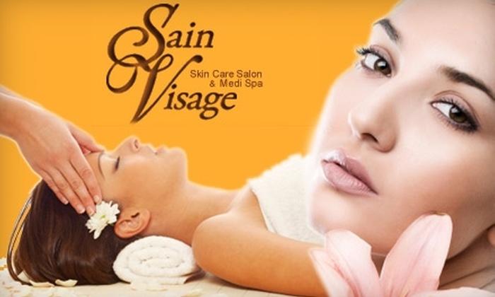 Sain Visage Skin Care Salon - Multiple Locations: $50 for $100 Worth of Spa Services at Sain Visage Skin Care Salon