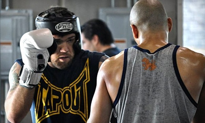 Throwdown Training Center - Spring Valley: $29 for One Month of Unlimited Classes at Throwdown Training Center ($150 Value)