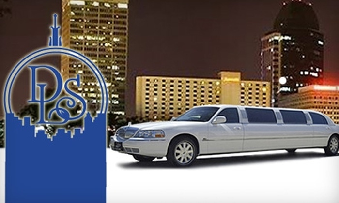 Deluxe Limousine Service - Springfield, MA: $50 for $100 Worth of Transportation from Deluxe Limousine Service