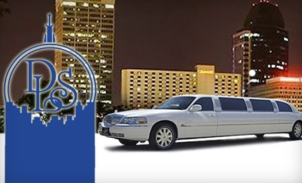 $100 Groupon to Deluxe Limousine Service - Deluxe Limousine Service in