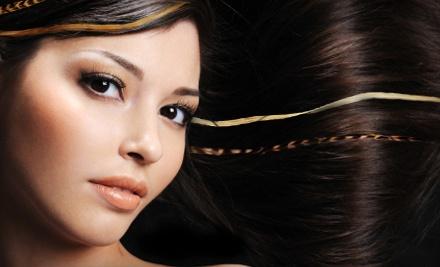 Chocolate Salon & Spa: 2 Feather Hair Extensions - Chocolate Salon & Spa in Orlando