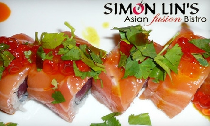 Simon Lin's Asian Fusion Bistro - Lincolnshire: $15 for $30 Worth of Dinner Cuisine at Simon Lin's Asian Fusion Bistro in Lincolnshire (or $7 for $15 Worth of Lunch)