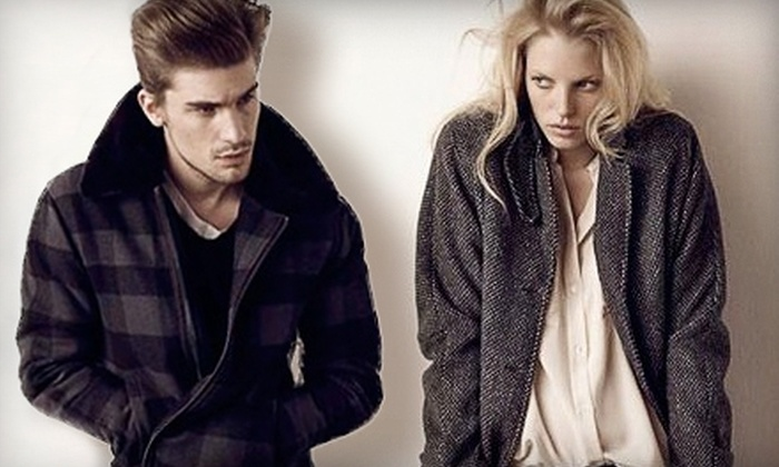 Hughes Clothing - Victoria: $50 for $100 (or $100 for $200) Worth of Apparel at Hughes Clothing