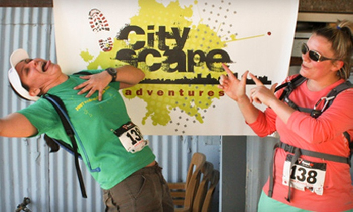 CityScape Adventures - Lakeview: $25 for Entry to Urban Scavenger Hunt for One from CityScape Adventures on Saturday, August 24 (Up to $50 Value)