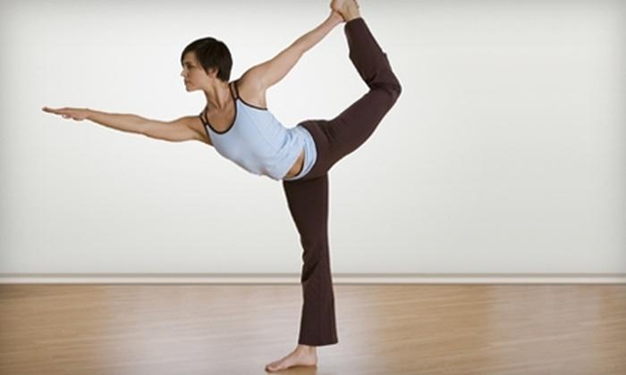 Bikram Yoga Folsom - Folsom: $39 for 10 Classes Plus One Kids' Class at Bikram Yoga Folsom in Folsom (Up to $200 Value)