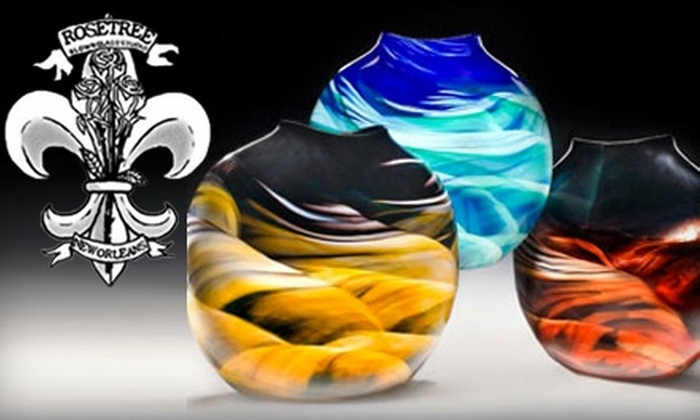 Rosetree Blown Glass Studio - Algiers Point: $25 for $50 Worth of Blown-Glass Art at Rosetree Blown Glass Studio