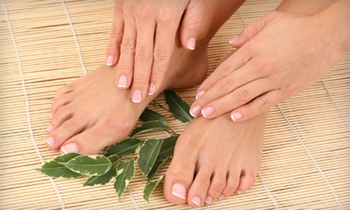 Hair It Is - Providence: Three Manicures or Manicure and Spa Pedicure at Hair It Is in Cumberland (Up to Half Off)