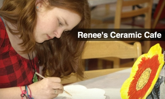 Reene's Ceramic Cafe - Twain: $7 for $15 Worth of Paint-Your-Own Pottery at Renee's Ceramic Cafe