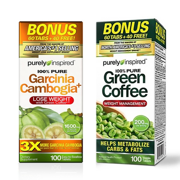Purely Inspired Garcinia Cambogia And Green Coffee Weight Loss