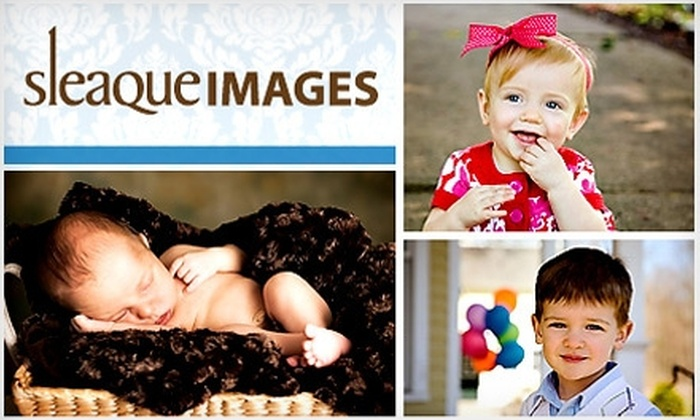 Sleaque Images - Springfield, MA: $77 for an On-Location Portrait Session, DVD Slideshow, and $25 Printing Credit at Sleaque Images ($275 Value)