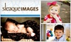 Sleaque Images: $77 for an On-Location Portrait Session, DVD Slideshow, and $25 Printing Credit at Sleaque Images ($275 Value)
