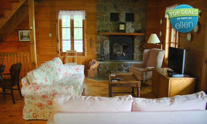 Beautiful Lac Nantel: Two-Night Weeknight or Weekend Stay for Up to 10 at Beautiful Lac Nantel in Saint-Faustin-Lac-Carré (Up to 57% Off)