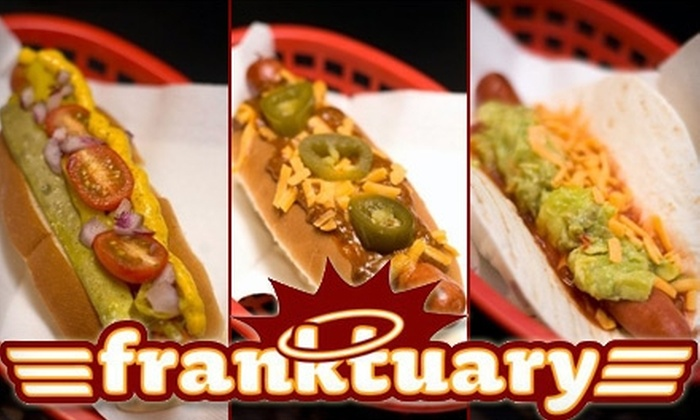 Franktuary - Downtown: $5 for $10 Worth of Gourmet Frankfurters, Sides, Drinks, and More at Franktuary