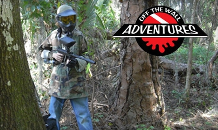 Off the Wall Adventures - Lakeland: $22 for a Paintball Package at Off the Wall Adventures ($45 Value)