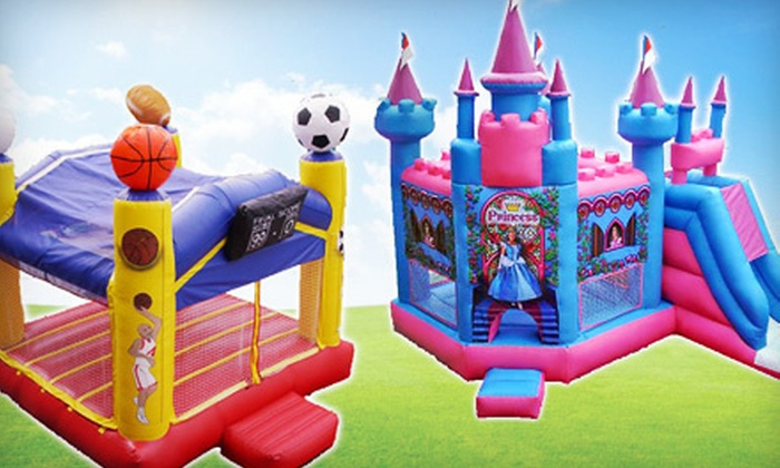 Flower City Party Rentals - Lyell-Otis: $49 for $100 Toward a Bounce-House Rental from Flower City Party Rentals