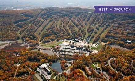 Stay with $30 Resort Credit and $10 Spa Credit at Chateau Resort in the Poconos, PA. Dates into June Available.