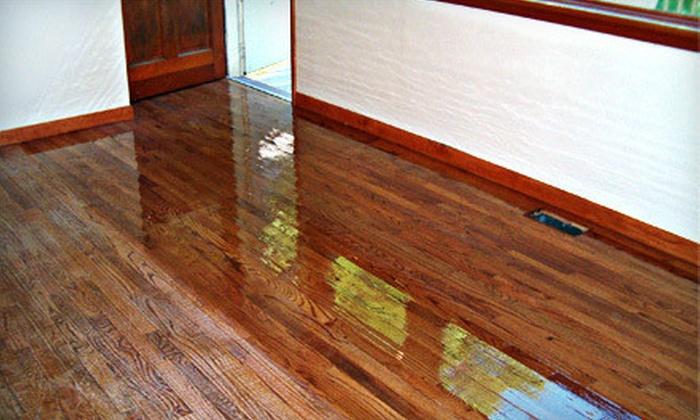 Fabulous Floors - Philadelphia: $185 for a Resurfacing Treatment for Hardwood, Laminate, Engineered, or Pergo Flooring from Fabulous Floors ($375 Value)