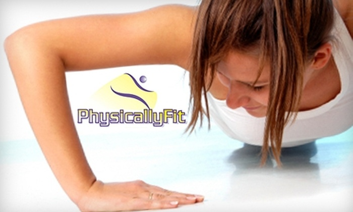 PhysicallyFit - Shelton: $29 for One Month of Unlimited Boot Camp Classes at PhysicallyFit in Shelton ($165 Value)